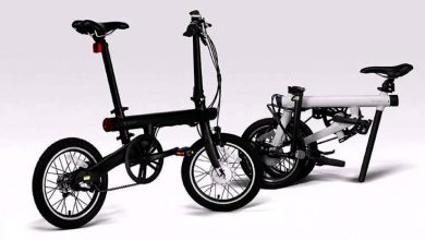 QICYCLE Folding Moped Electric Bike