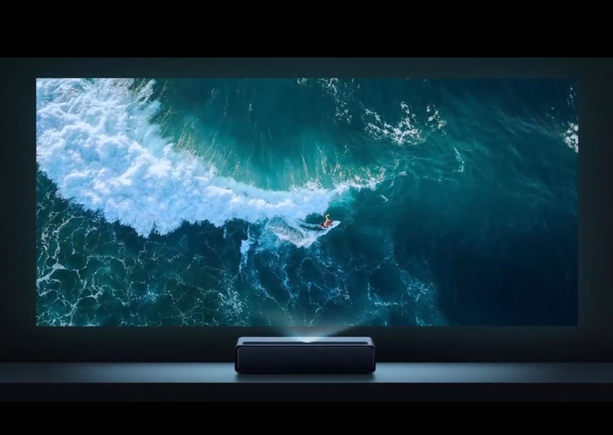 Xiaomi mijia 20K Laser Projector Projection TV Review
