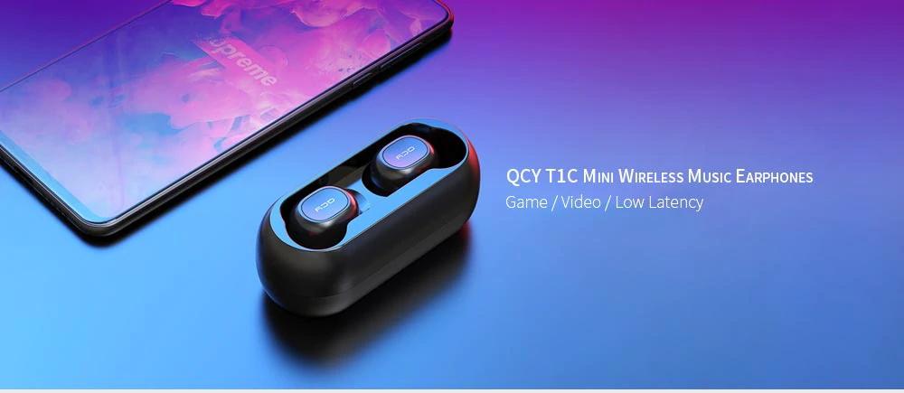 QCY T1 TWS - Geekbuying