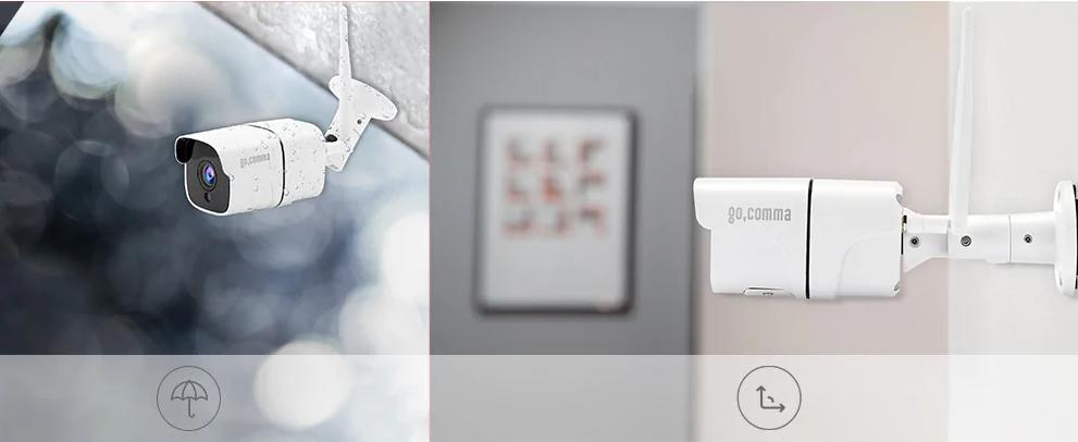 Gocomma Wireless Smart WiFi IP Camera
