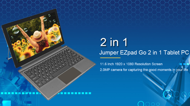 Jumper Ezpad Go 2 In 1 Tablet Pc Now For Just 299 99