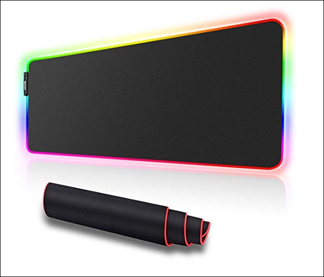 LUXCOMS RGB Soft Gaming Mouse PadLUXCOMS RGB Soft Gaming Mouse Pad