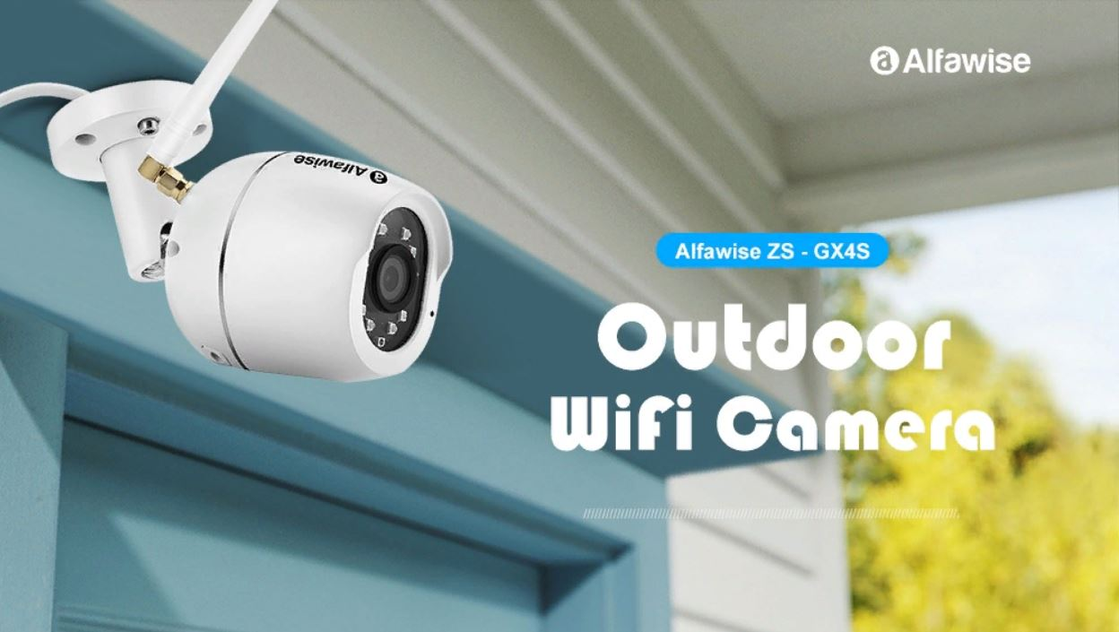 Grab Alfawise Zs Gx4s Outdoor Wifi Camera For 32 99
