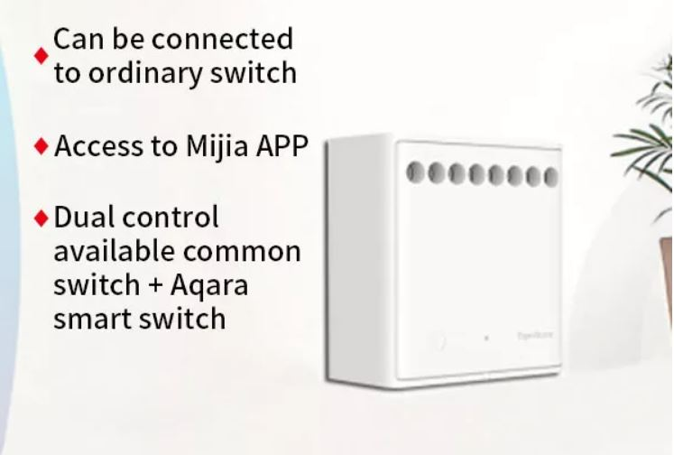 This image has an empty alt attribute; its file name is xiaomi-aqara-2-way-wireless-controller.jpg