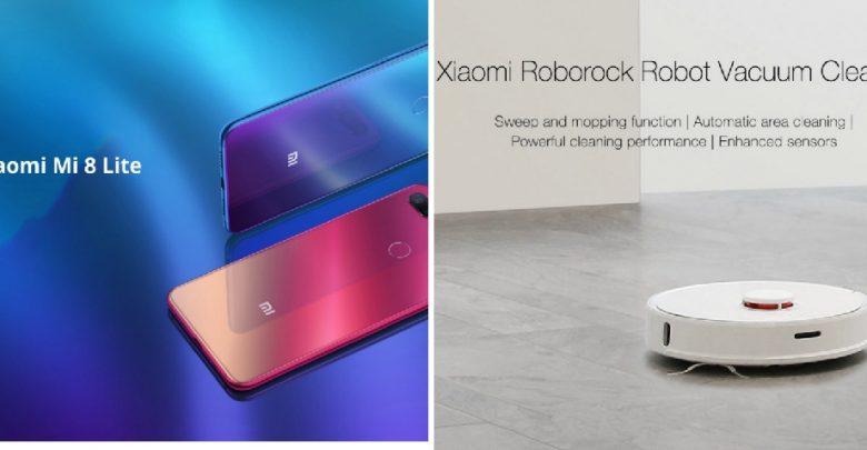 Buy Xiaomi Mi 8 Lite at €186,99 & Mi Roborock S50 Robot 2