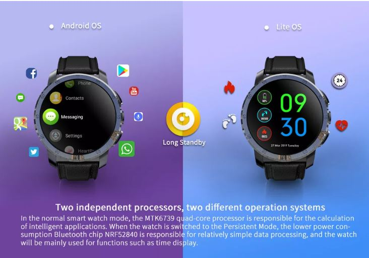 Kospet Optimus Pro Smartwatch phone Offered for $99 99