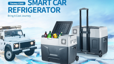 Tecney CX40 40L Smart Car Freezer