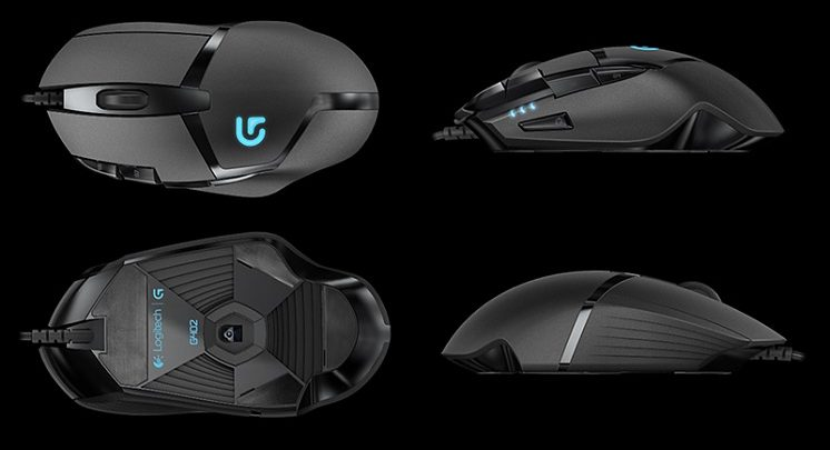 Buy Logitech G402 Hyperion Fury FPS Wired Gaming Mouse For