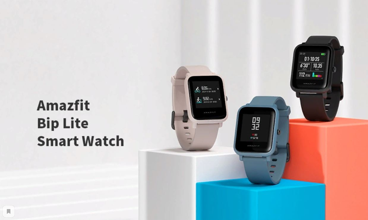 Xiaomi Amazfit Bip Lite Smart Watch now available for $59.99 - XiaomiToday
