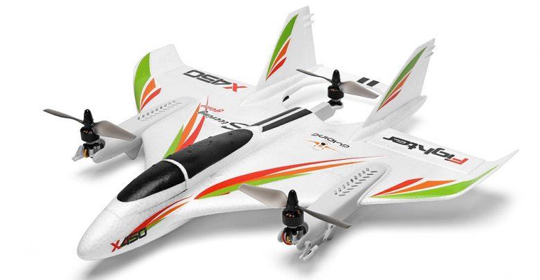 Buy XK X450 AVIATOR VTOL 450mm Wingspan RC Airplane For Just