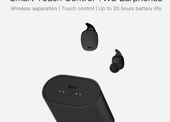 870dada29d5 QCY T1 Pro TWS Bluetooth Touch Control Earphones Offered for $30.99