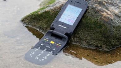 Ulefone armor flip rugged phone