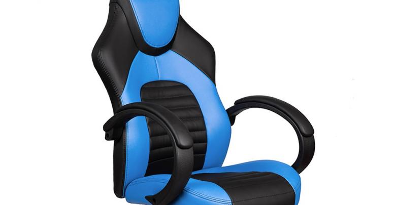 Brilliant Buy Merax Sa R 23Bl Office High Back Gaming Chair For Just Machost Co Dining Chair Design Ideas Machostcouk