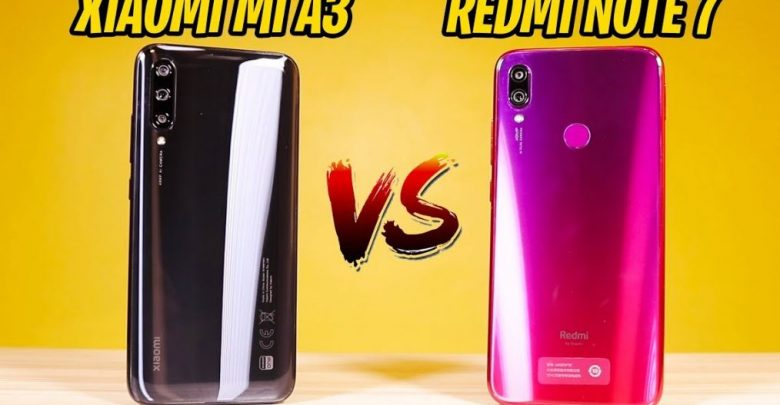 Xiaomi Mi A3 vs Redmi Note 7: what does each offer(Best Price)