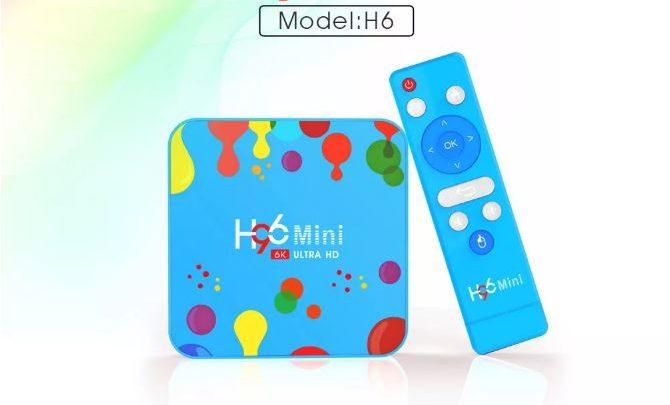 H96 Mini Allwinner H6 4GB RAM 32GB 4K 6K TV Box Offered for $34 49