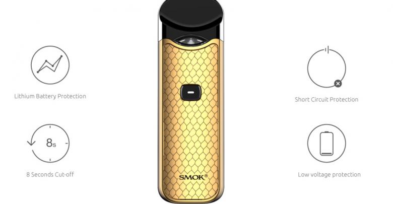 SMOK Nord Pod Vape Kit + FREE 10ML Vampire E-liquid for £24 99