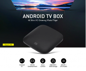 Buy The Xiaomi MI Android TV box with 4K Ultra HD streaming