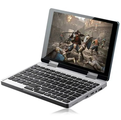 Personal Computer 2 in 1 Mini Laptop