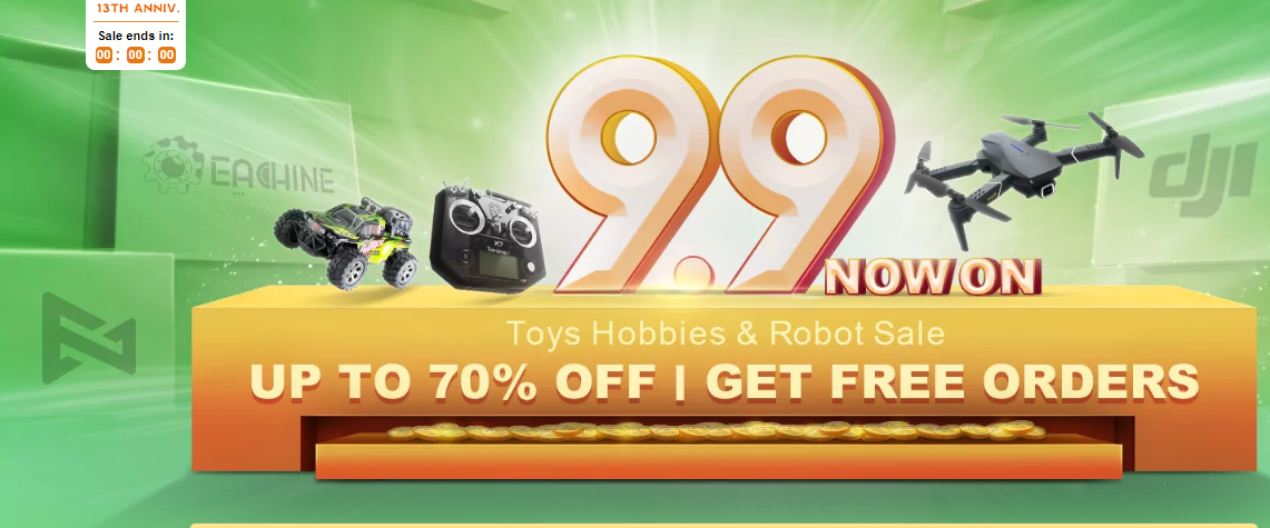 Toys and Hobbies Sale