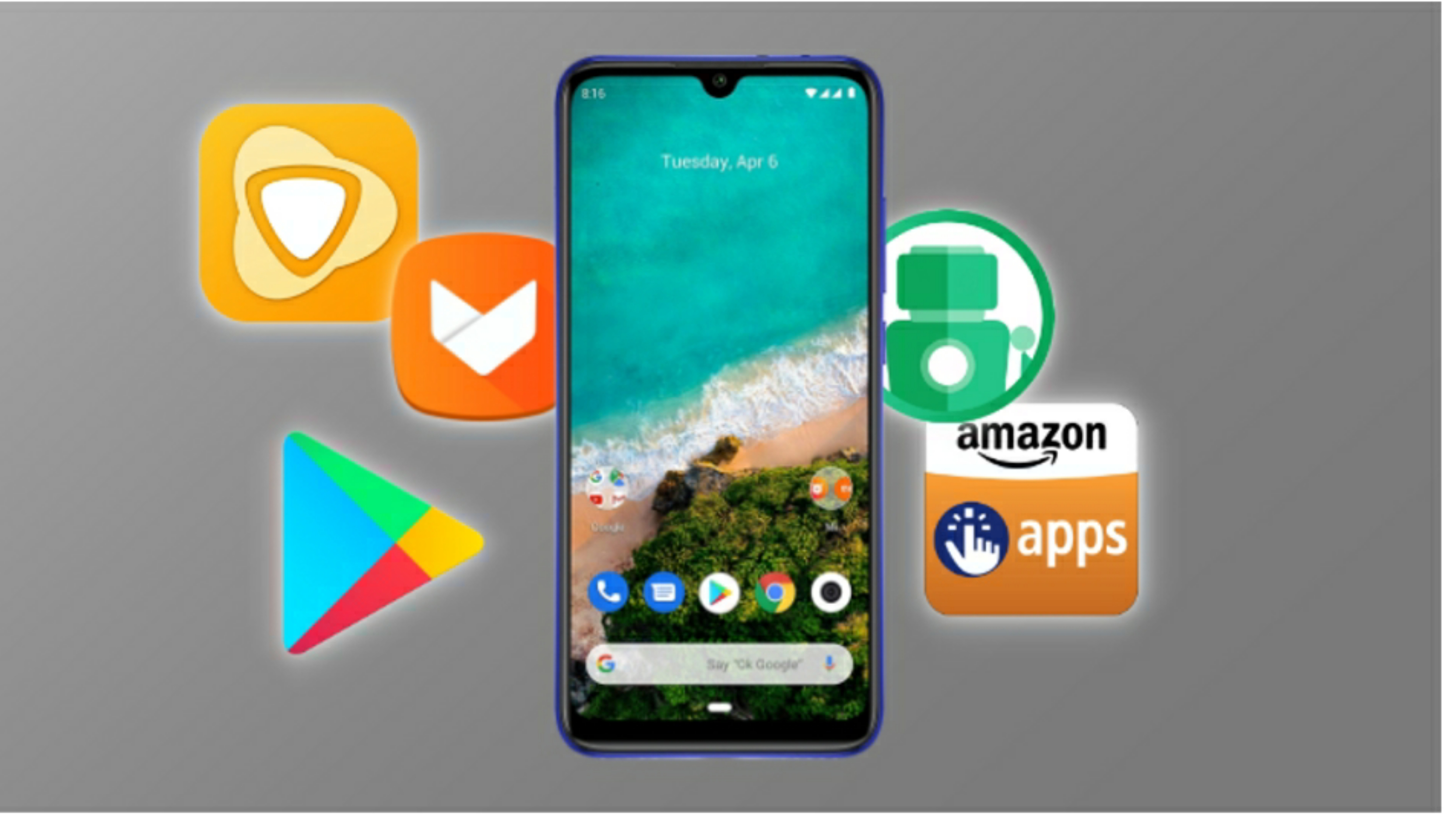 The Almost Best Collection Of Apps And >> 5 Best Playstore Alternatives For Xiaomi Phones Xiaomitoday