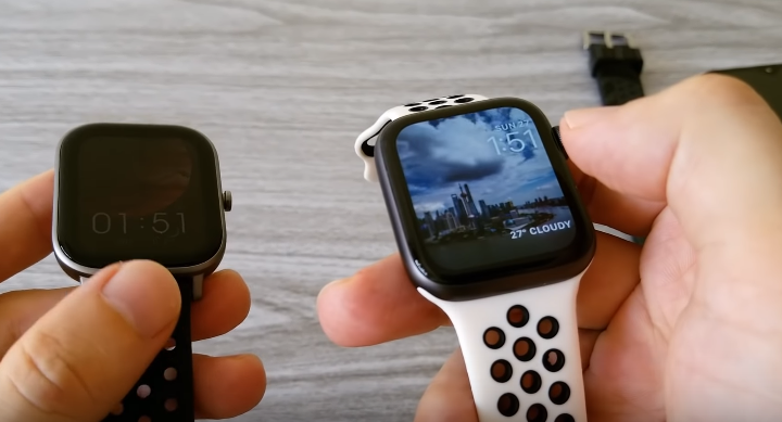 Huami Amazfit GTS Vs Apple Watch Vs Huawei GT