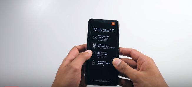 Mi Note 10