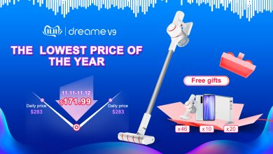 Dreame V9P on Aliexpress