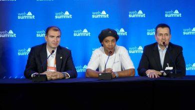 Ronaldinho at the Web Summit 2019
