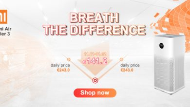Grab Xiaomi Air Purifier 3 bottom price with 41 OFF for a limited time on double 11