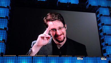 Edward Snowden in the Web Summit 2019