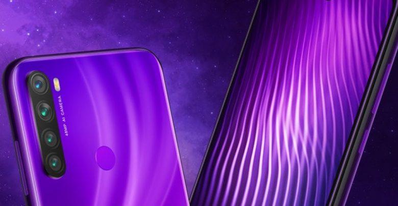 Redmi Note 8 Nebula purple
