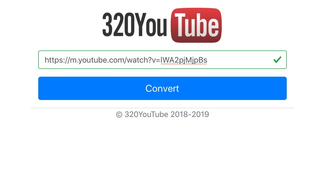 mp3 convert youtube