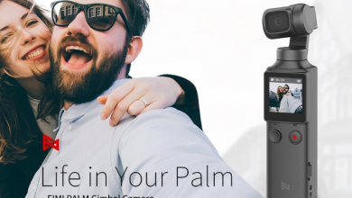 fimi palm 3axis gimbal camera
