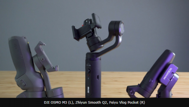 DJI OSMO Mobile 3 Vs Zhiyun Smooth Q2 Vs Feiyu Vlog Pocket Camera