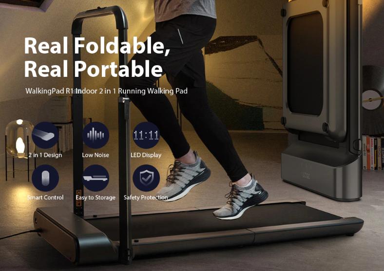 Electric Folding Treadmill Running Machine Xiaomi WalkingPad R1 Space-saving