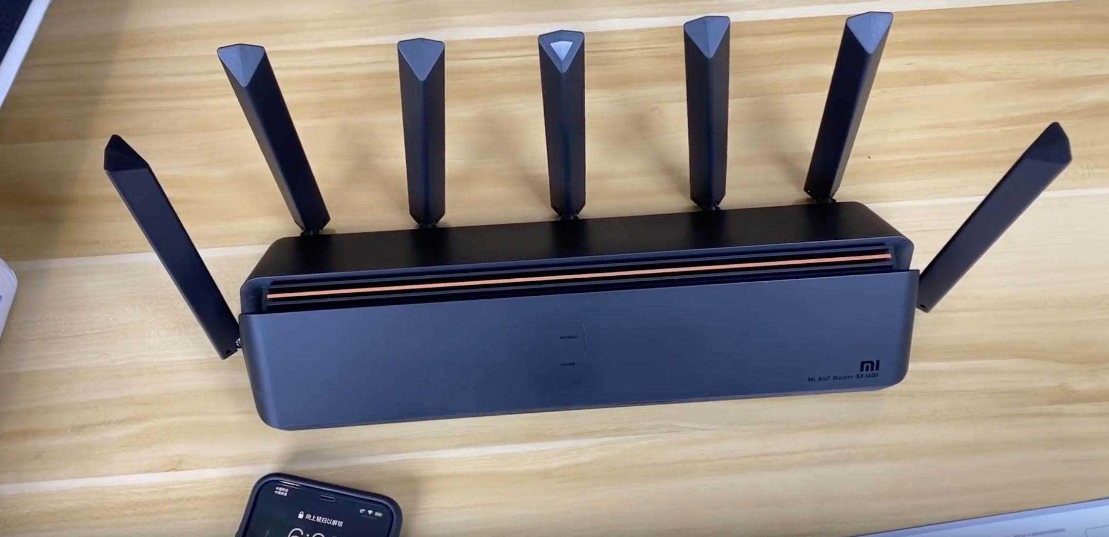 Xiaomi Ax3600 router