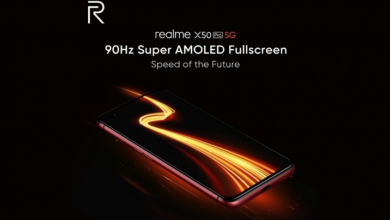 Realme X50 Pro 90Hz display