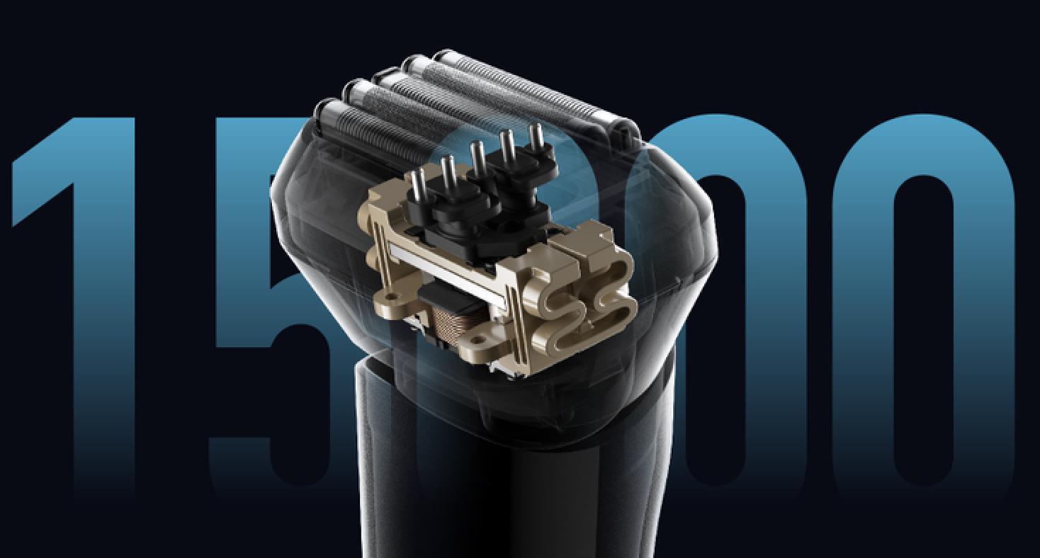 XIAOMI Mijia 5 Cutter Heads 15000rpm ماكينة حلاقة كهربائية ترددية معروضة مقابل 97.89 دولار (قسيمة) 2