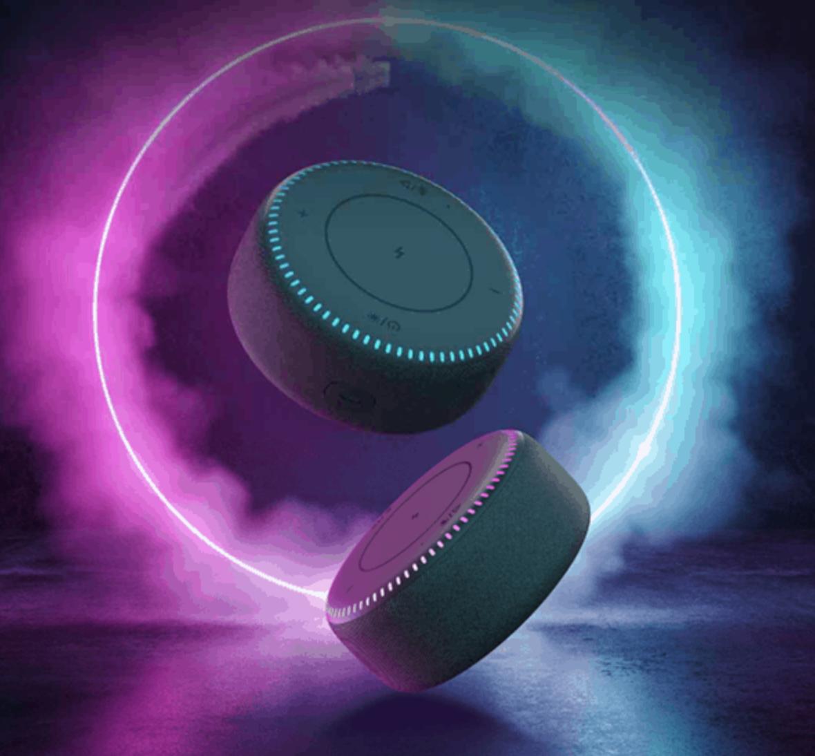 Xiaomi ZMI Bluetooth speaker cum wireless charger