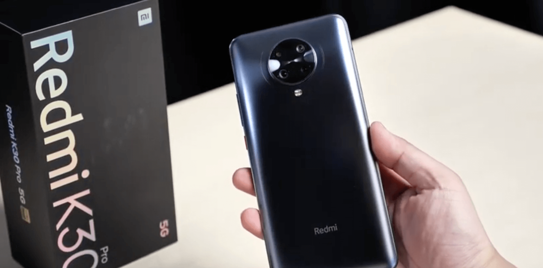 Revisión de Redmi K30 Pro Zoom Edition: un dispositivo rico