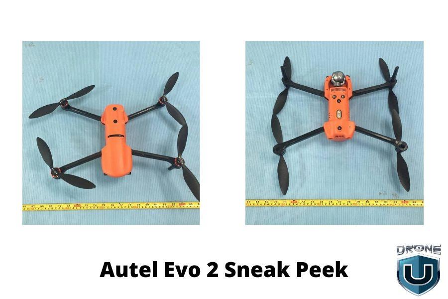 Autel EVO II seriyalı Pro Drone Sərbəst buraxıldı: 8K 48MP 40mins Uçuş RC Quadcopter Kamera ilə $ 529.99 üçün 9KM FPV 1