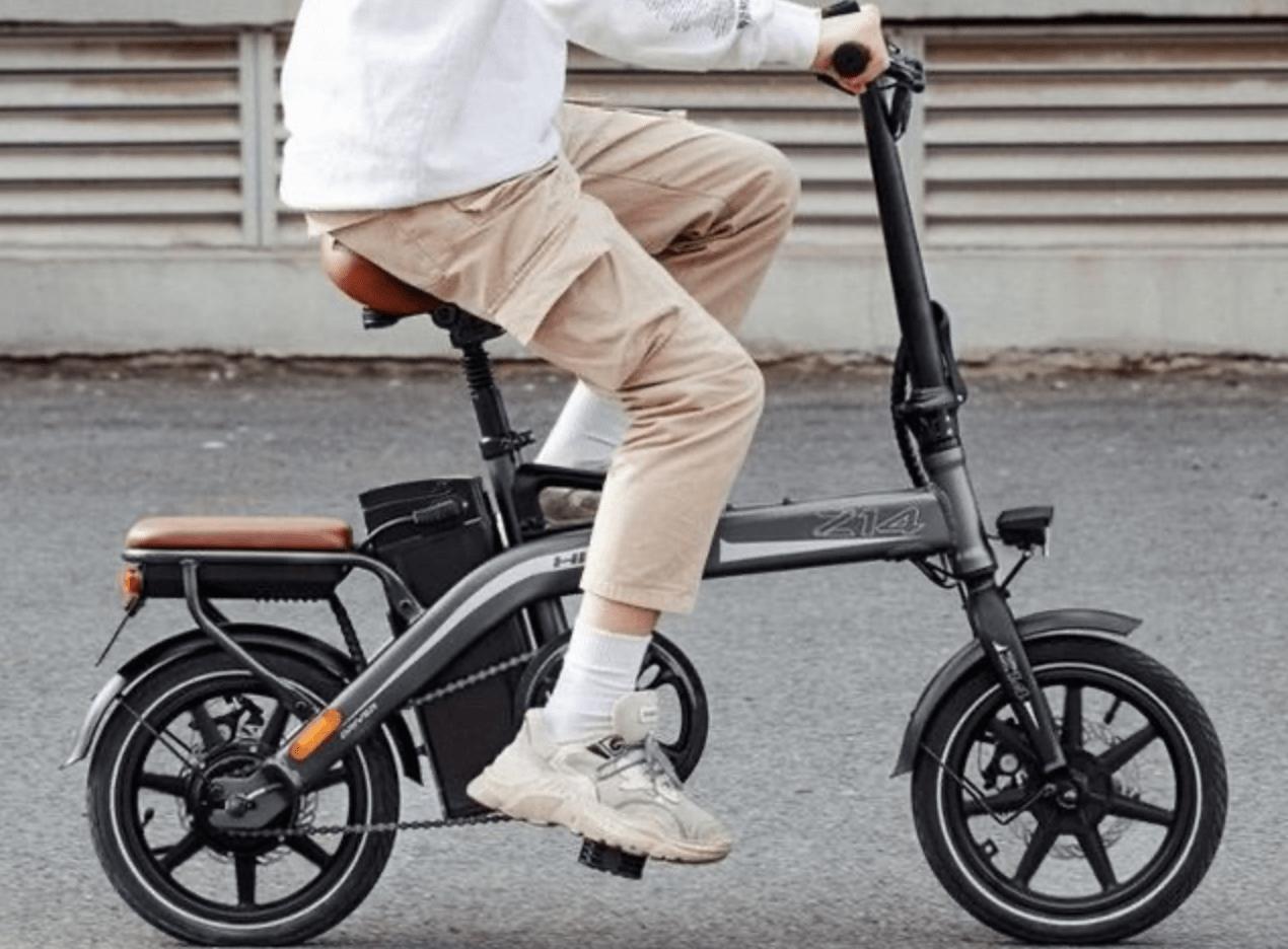 Revisão da bicicleta elétrica Xiaomi Himo Z14: bateria impressionante e dobrável