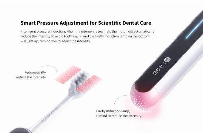 Xiaomi DR.BEI S7 بالموجات فوق الصوتية فرشاة الأسنان الكهربائية صدر: متوفر مقابل 79.99 دولارًا 4