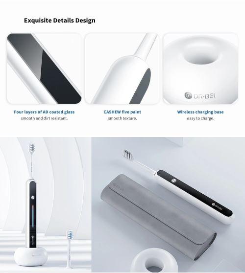 Xiaomi DR.BEI S7 بالموجات فوق الصوتية فرشاة الأسنان الكهربائية صدر: متوفر مقابل 79.99 دولارًا 2