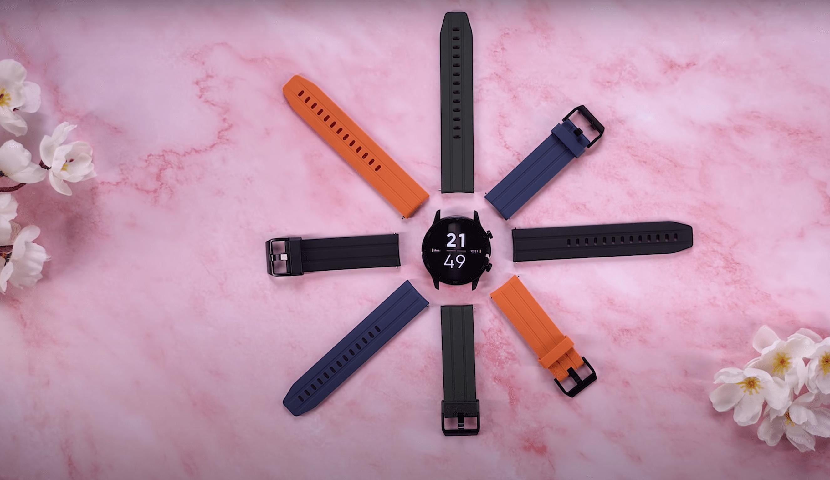 ساعت هوشمند چند رنگ