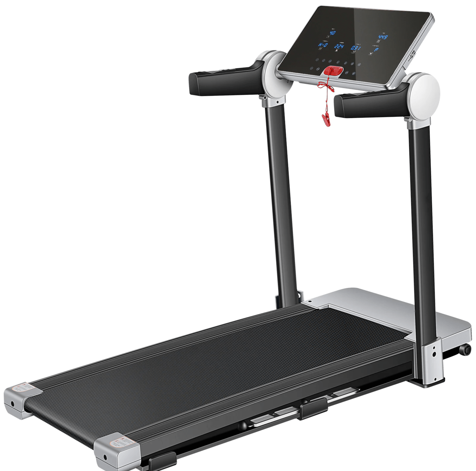 Folding Treadmill Home Gym Running Machine 12 Pre-Programs 3.0HP