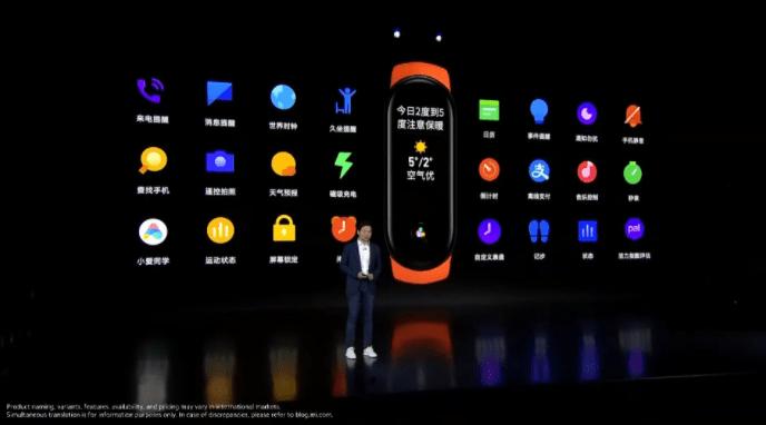 Xiaomi MI band 6 Italy