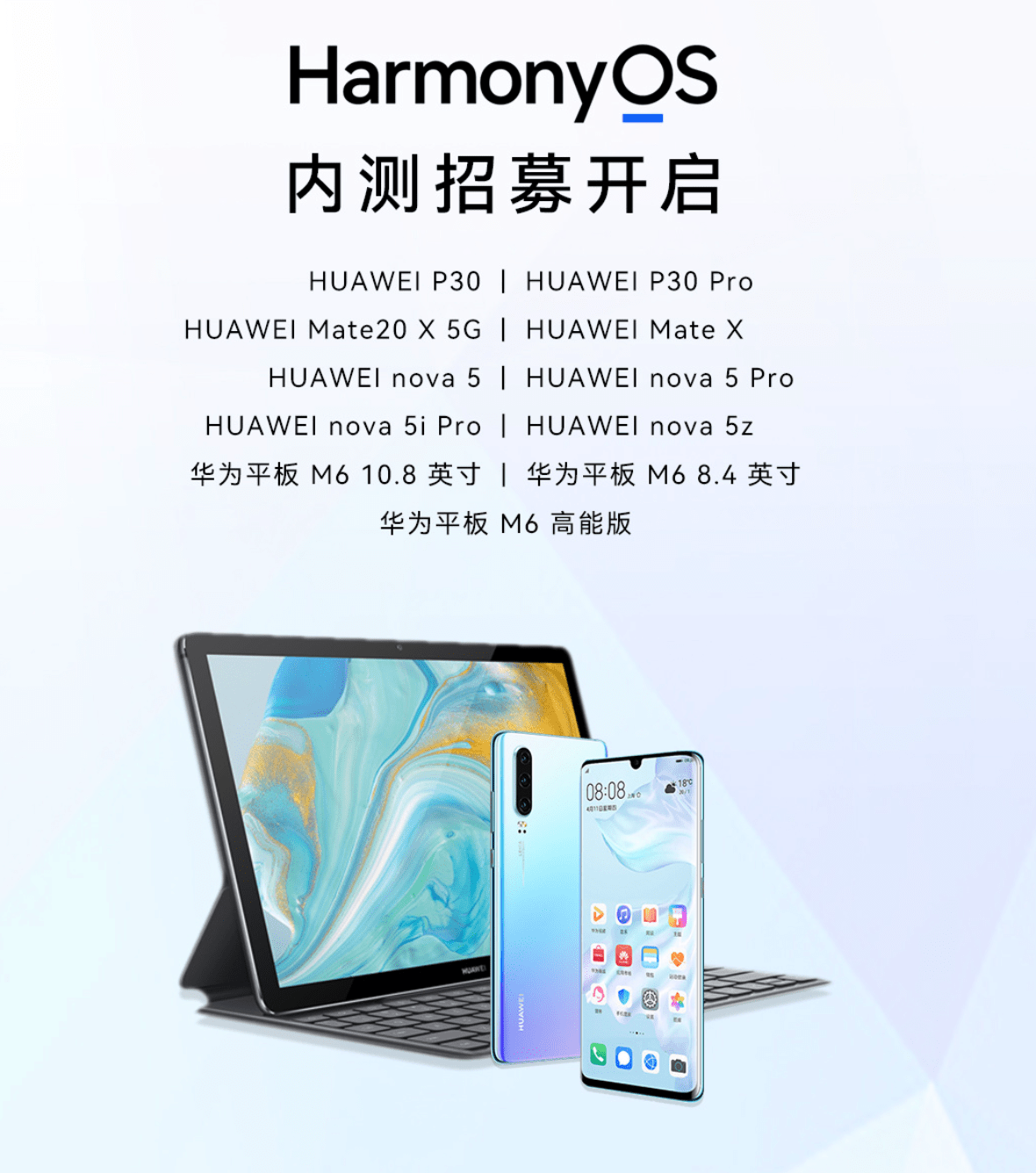 Huawei Nova 5 Hongmeng HarmonyOS 2.0