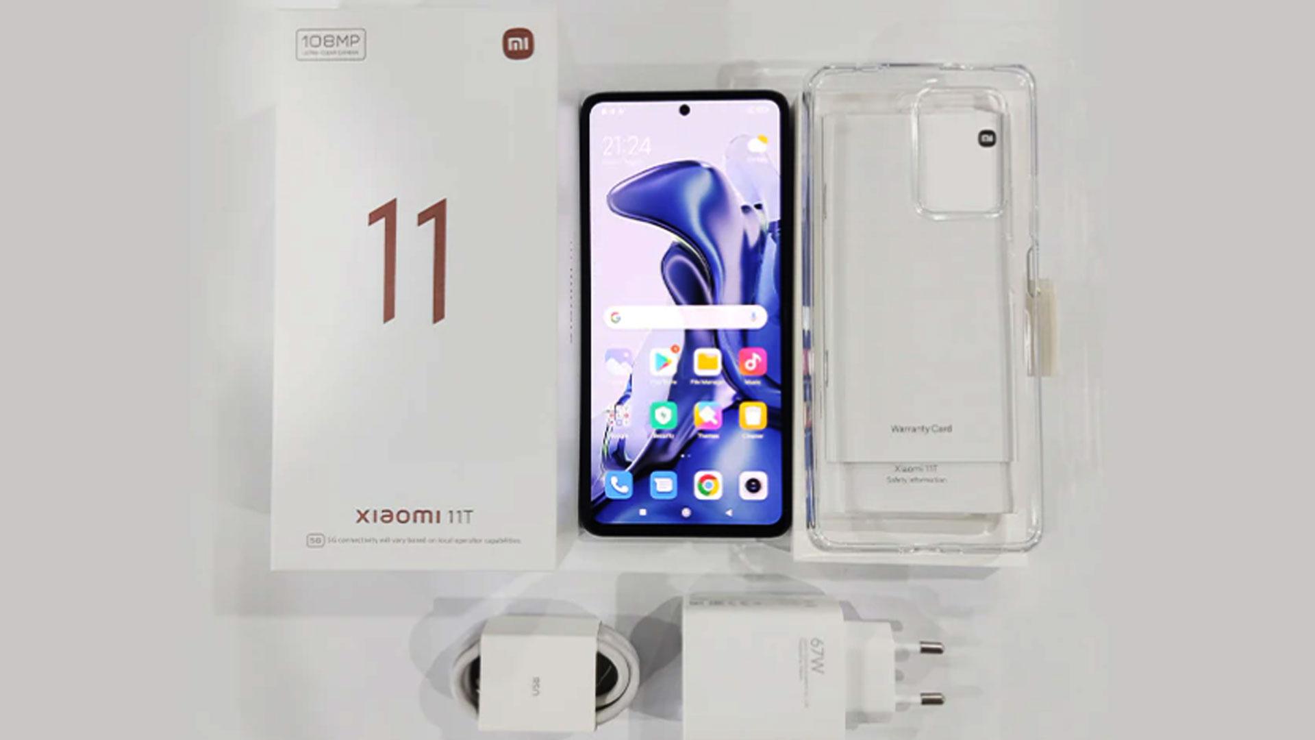 Xiaomi 11T Xiaomi Mi 11T Mi 11T Teléfono Xiaomi