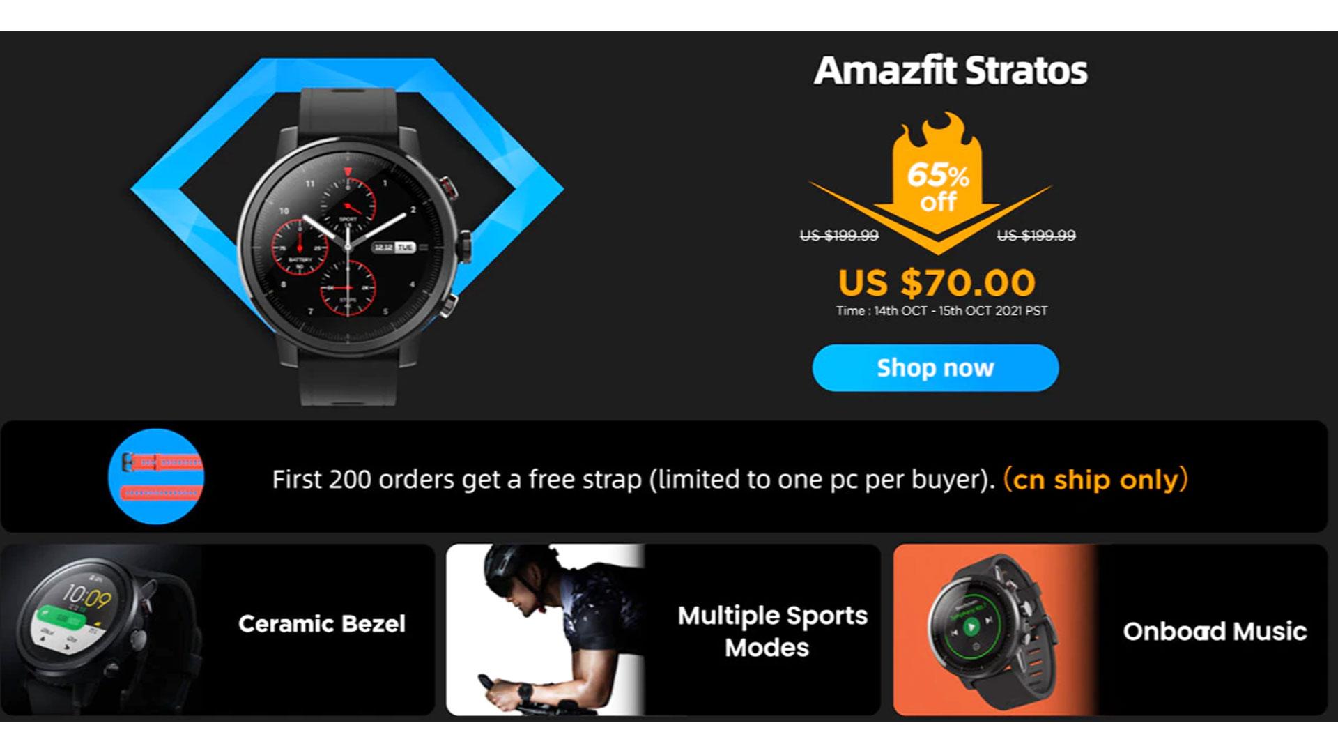 Reloj Amazfit Amazfit Amazfit GTR 2 Amazfit GTS 2 Amazfit Bip U Pro